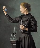 Effige commemorativa di Marie Curie
